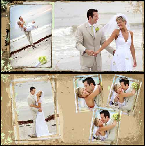Custom Designed Coffee Table Wedding Books by Mj Wilson