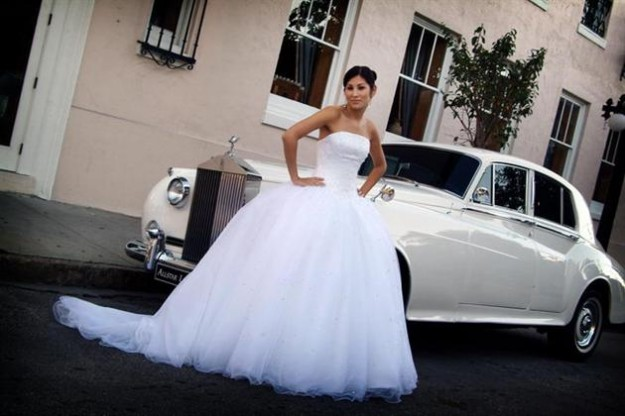 Latin Bride by White Rolls Royce - Wedding Images by Mj Wilson