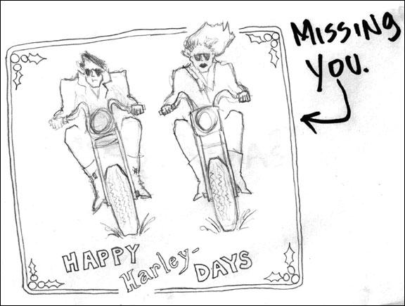 Happy Harley Days Card
