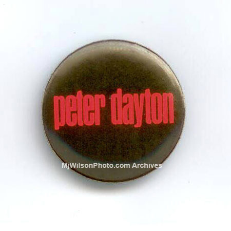 Peter Dayton Band Button