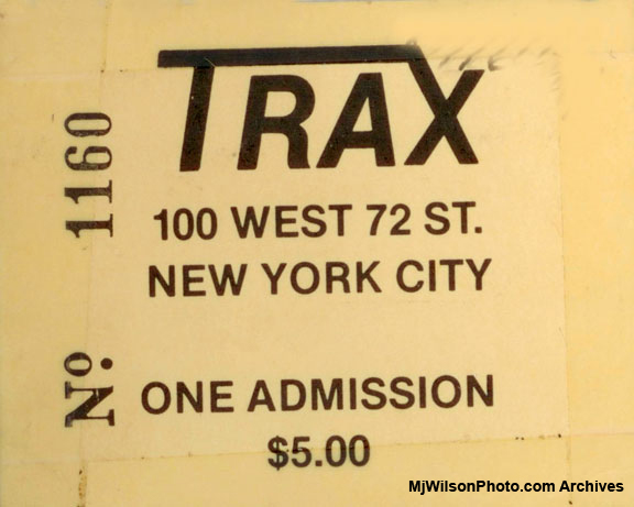 Trax - New York City