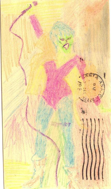 Pat Benatar Card