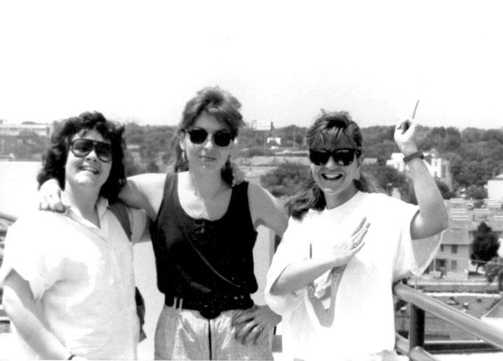 A Shuttle Launch - Marci Carlin, Lezlie Beer, Tamara Lanham, Mj Wilson