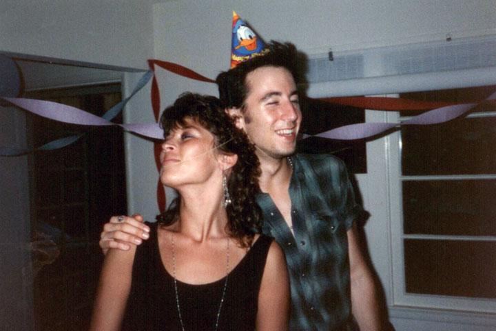 Mj & Todd at some Birthday Festivity