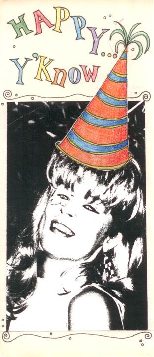 Todd's Birthday Card