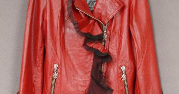 Royal Underground Red Leather Jacket