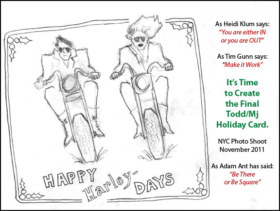 Happy Harley Days Holiday Card