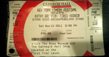Kathy Griffin - Tired Hooker - New York Comedy Festival - Carnegie Hall