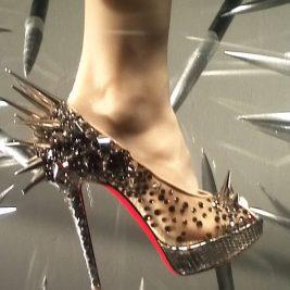 Christian Louboutin Studded Shoe
