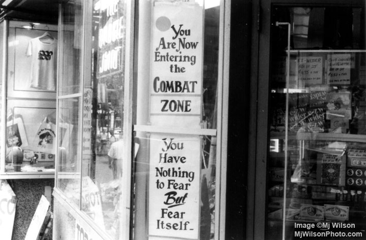 The Combat Zone In Boston Mj Wilson Photography