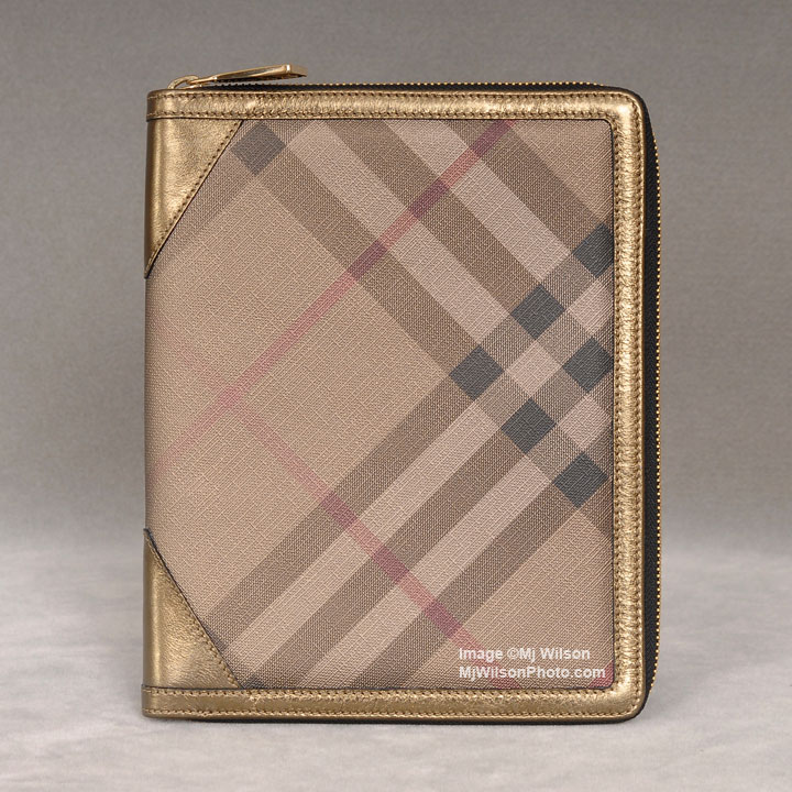 Burberry Iconic Metallic Check iPad / Tablet Case