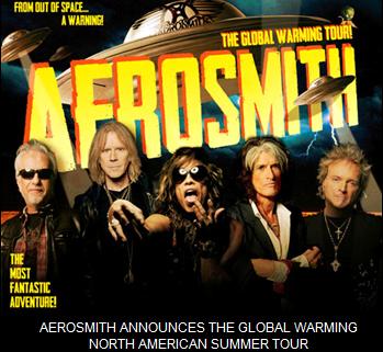 Aerosmith - The Global Warming Tour