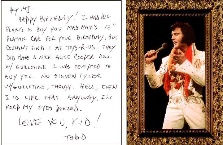 Birthday Card Nonsense from Todd