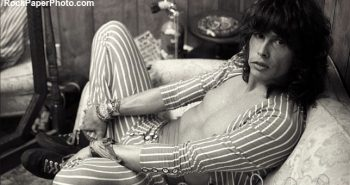 Steven Tyler - © Mark Weiss 1985 - RockPaperPhoto.com