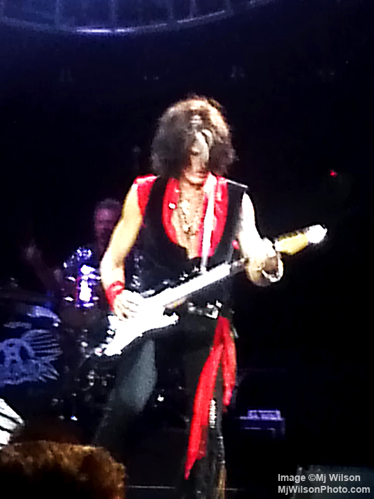Joe Perry of Aerosmith - Atlanta 2012 Concert - by Mj Wilson Photography