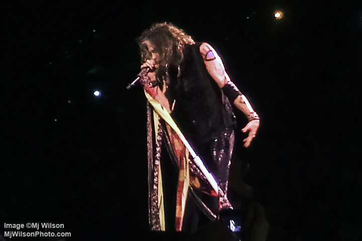 Steven Tyler of Aerosmith - Atlanta 2012 Concert - by Mj Wilson Photography
