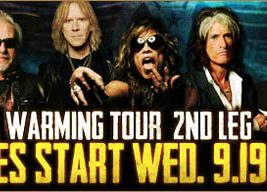 The Second Leg of Aerosmith's Global Warming Tour
