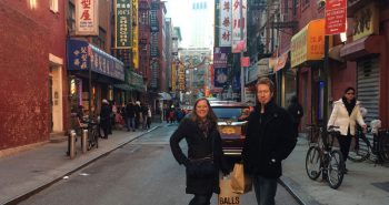 Sandra and Kevin in Chinatown