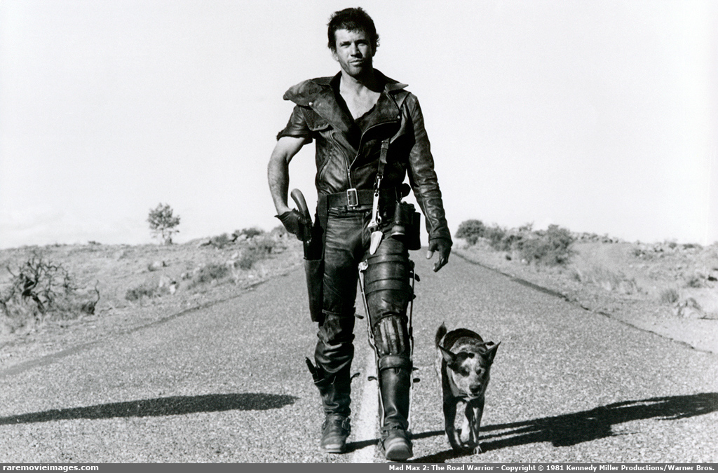 Mel Gibson as The Road Warrior