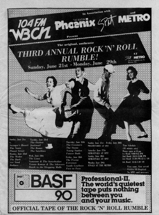 WBCN Boston - Third Annual Rock 'N Roll Rumble