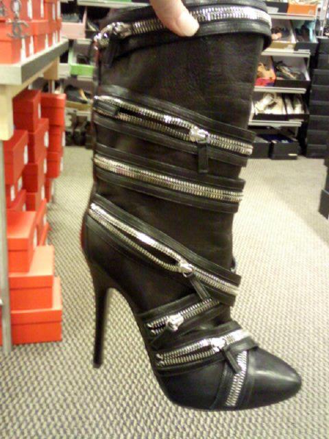 Guiseppe Zanotti Zipper Boots