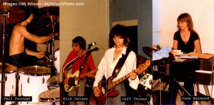 "Phil Provost, Rick Delano, Jeff Thomas & Jane (Balmond) Mangini - ""7"""