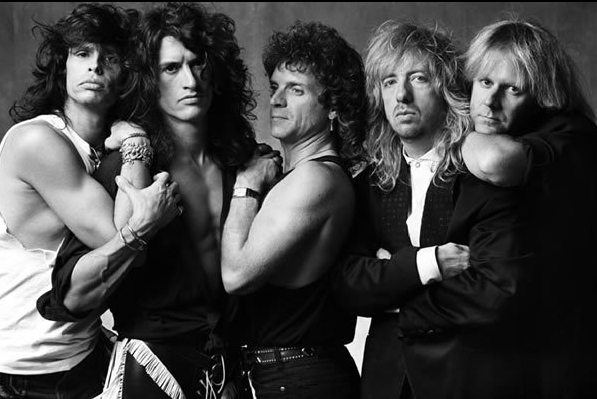 Aerosmith - Steven Tyler, Joe Perry, Joey Kramer, Brad Whitford, Tom Hamilton