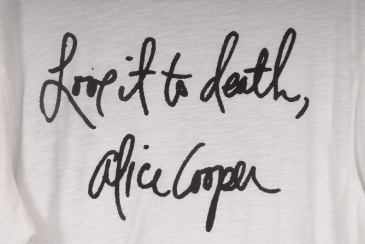 Alice Cooper - Love it to Death T-Shirt with eyes
