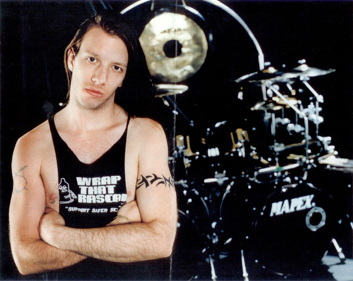 Andy James - Drummer for Savatage and Roxx Gang