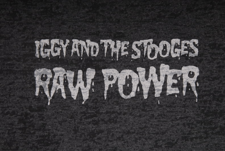 Iggy And The Stooges Raw Power T Shirt Mj Wilson