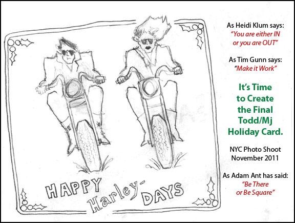 Happy Harley Days Holiday Card