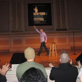 Bill Burr at the New York Comedy Festival - Photo by Warren Kneissl