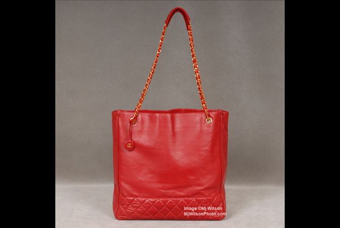 3c3c68542248 Chanel Vintage Red Leather Tote - Mj Wilson Photography ...