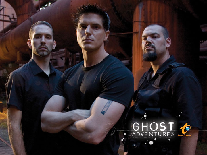 Ghost Adventures Crew - Zak Bagans, Nick Groff, and Aaron Goodwin