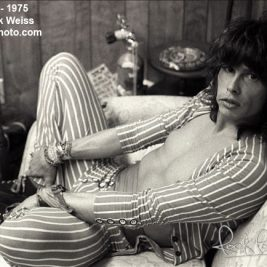 Steven Tyler - © Mark Weiss 1985 - RockPaperPhoto.com