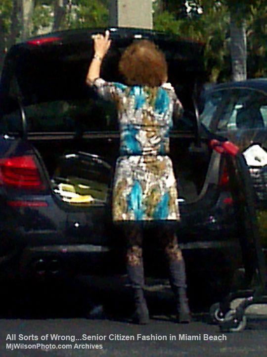 Senior Citizen Fashion in Miami Beach