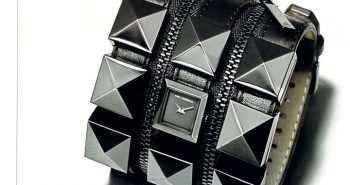 Karl Lagerfeld Studded Watch